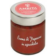 Crema di peperoni in agrodolce