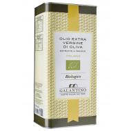 Olio extravergine di oliva in latta Galantino