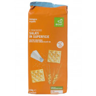 Crackers salati in superficie 250g