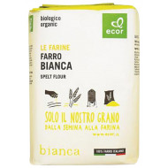 Farina di farro bianca da filiera italiana