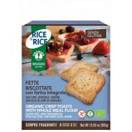 Fette biscottate con farina integrale senza glutine Rice & Rice