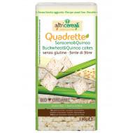 Quadrette di grano saraceno e quinoa Altri Cereali