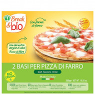 Base per pizza al farro Break & Bio