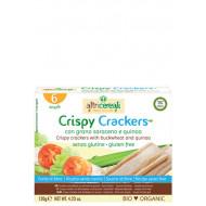 Crispy crackers con grano saraceno e quinoa Altri Cereali