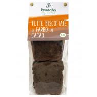 Fette biscottate di farro al cacao