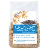Crunchy con avena e semi di chia