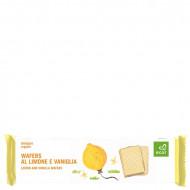 Wafers al limone e vaniglia