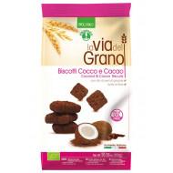 Biscotti cocco e cacao La Via del Grano