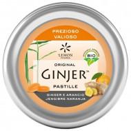 Pastiglie ginger e arancia