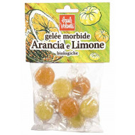 Caramelle gelée arancia e limone