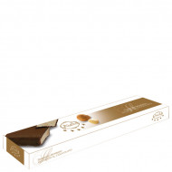 Torrone con cioccolato fondente