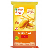 Farro cake al naturale Break & Bio