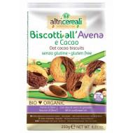 Biscotti all'avena e cacao Altri Cereali