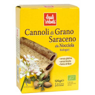 Cannoli di grano saraceno con crema alla nocciola