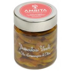 Pomodori verdi in olio extravergine di oliva