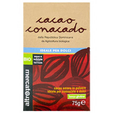Cacao Conacado amaro in polvere