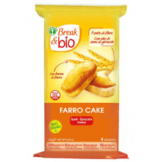 Farro cake al naturale Break & Bio