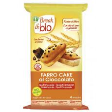 Farro cake al cioccolato Break & Bio