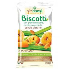Biscotti al grano saraceno, carota e mandorle Altri Cereali